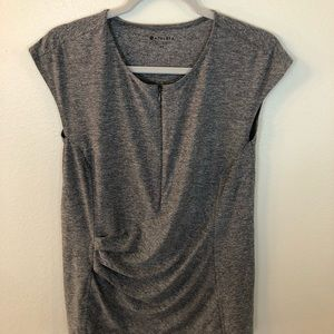 Athletica Pacifica wrap tank top gray size Large T